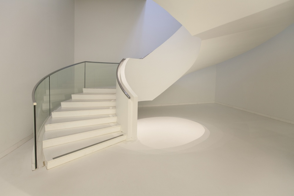 A piece of fine art art photography titled Stairs by Dries van Assen