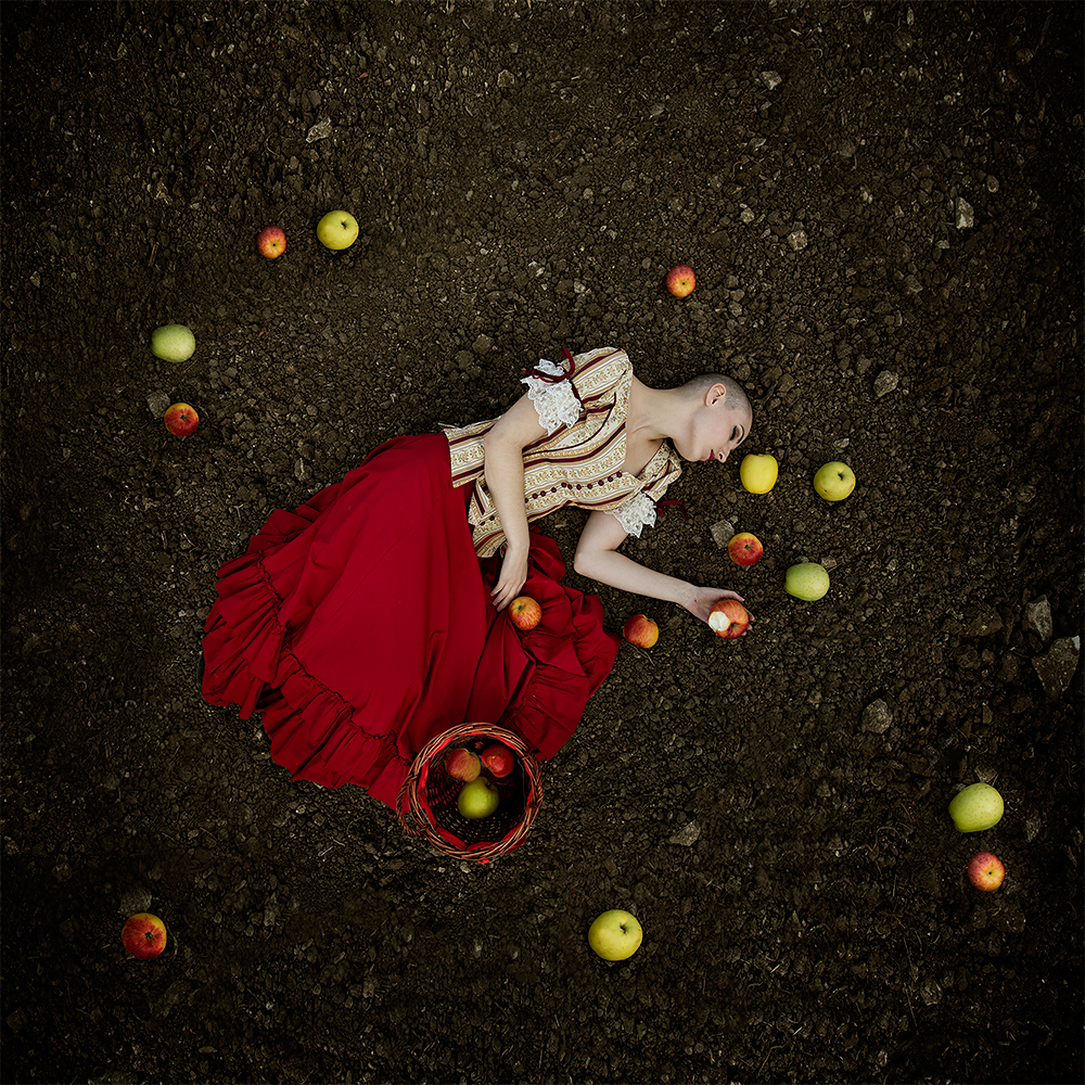 A piece of fine art art photography titled Snow White by Mike Darzi
