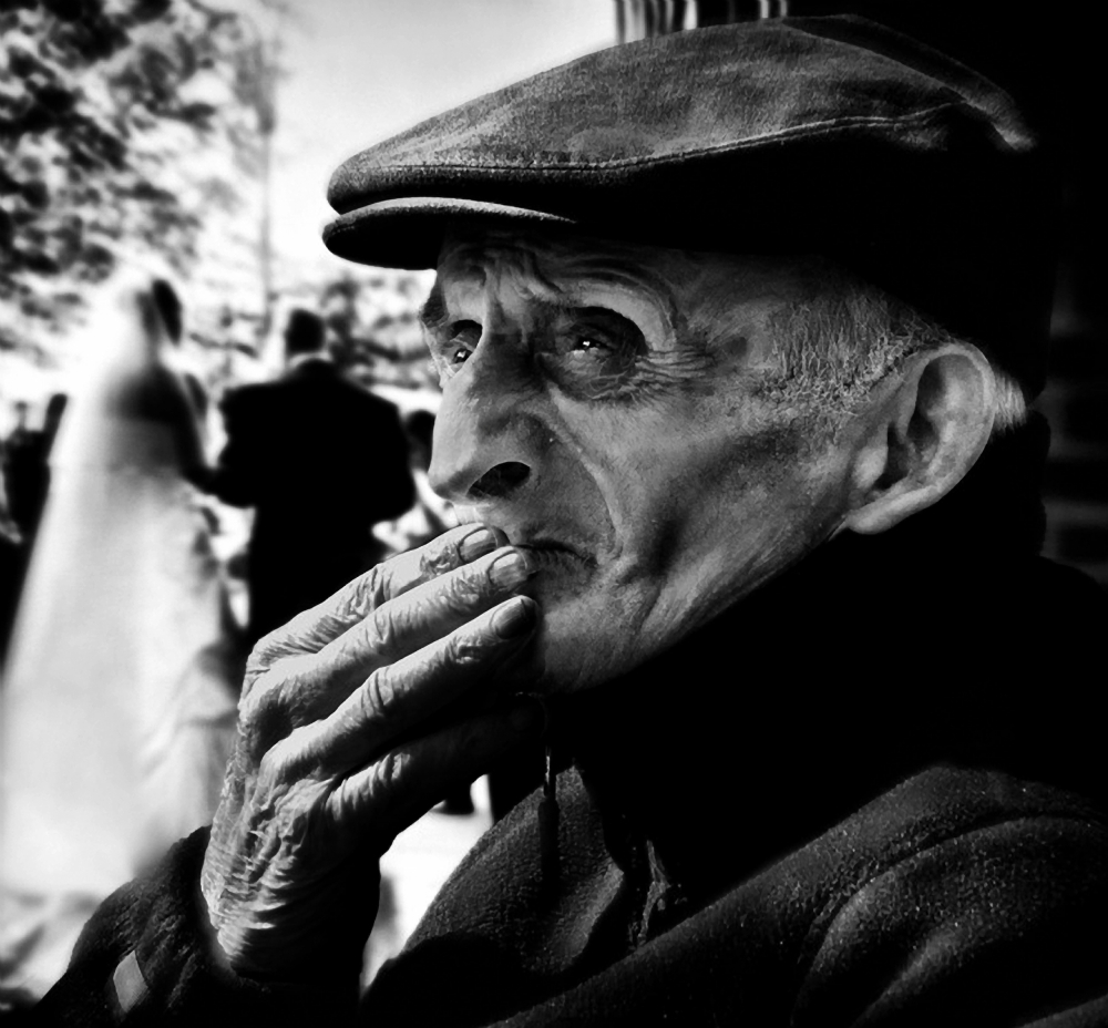 A piece of fine art art photography titled The Widower by Piet Flour