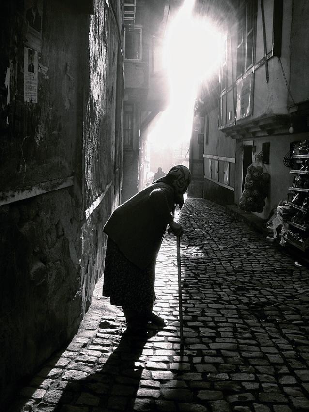 A piece of fine art art photography titled Line by bakiremzisuicmez