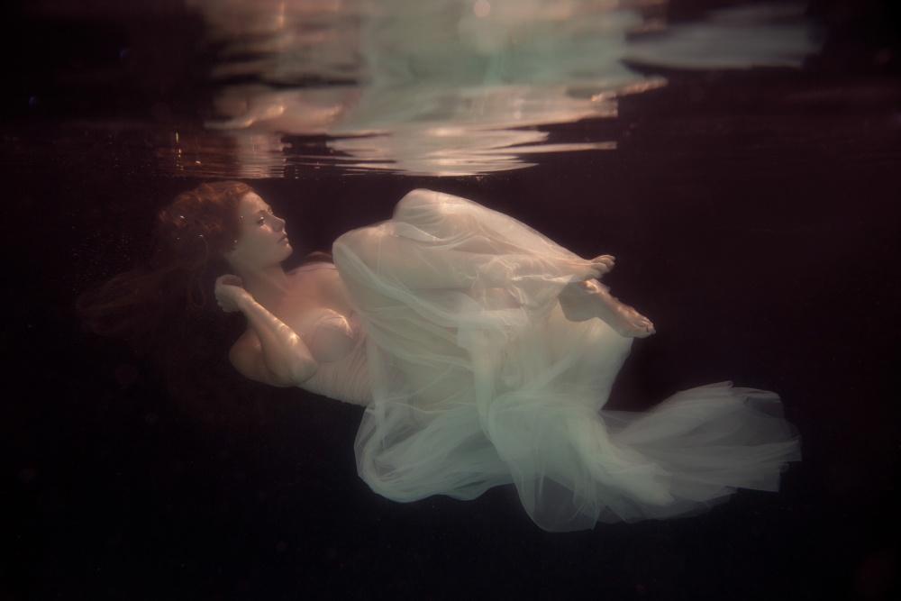 A piece of fine art art photography titled Sleeping Beauty by Gabriela Slegrova