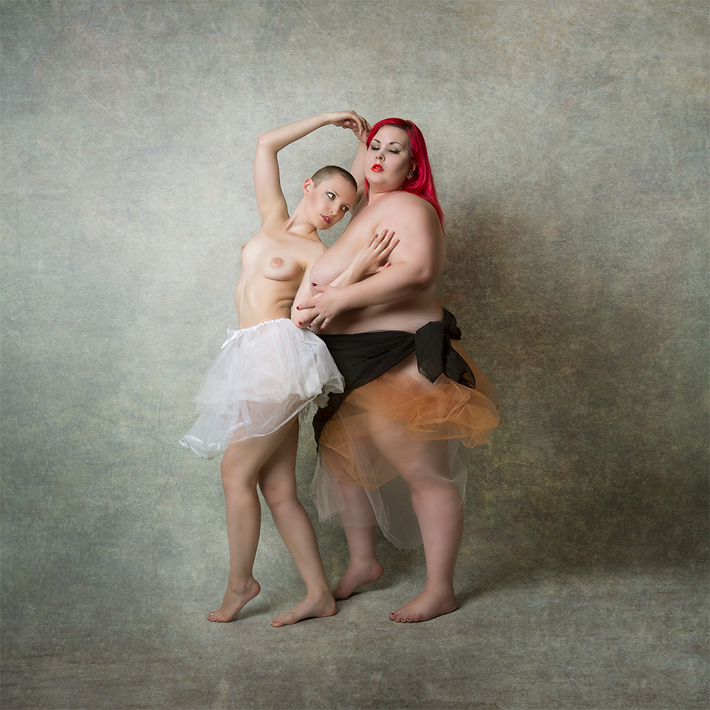 A piece of fine art art photography titled Dancing Together by Mike Darzi