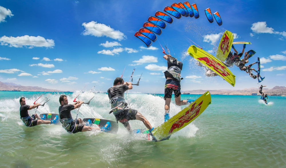 A piece of fine art art photography titled Wakestyle by Elad Nissim