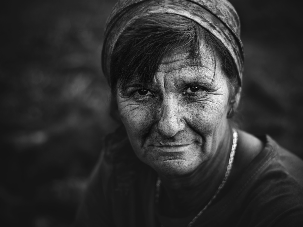 A piece of fine art art photography titled Wife of the Coal Burner by Zoran