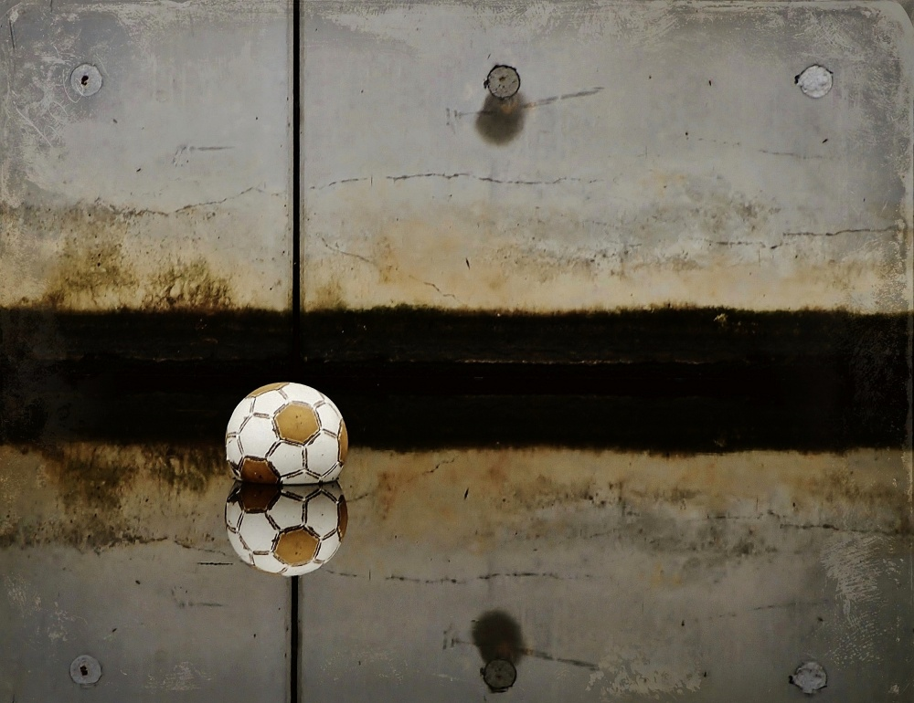 A piece of fine art art photography titled Game Over by Annemieke