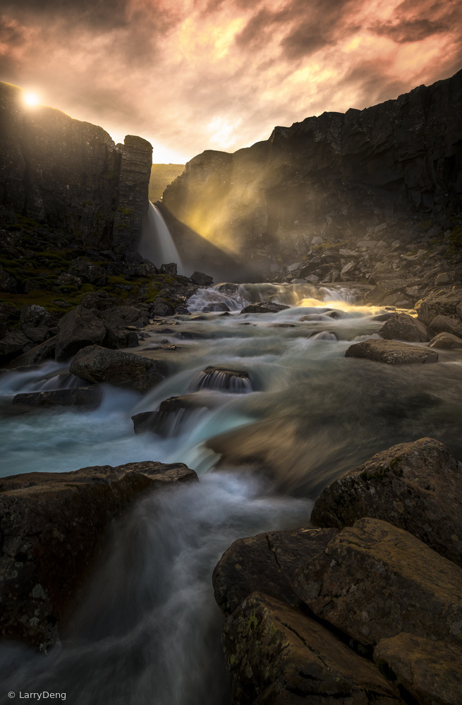 View this piece of fine art photography titled The light by Larry Deng