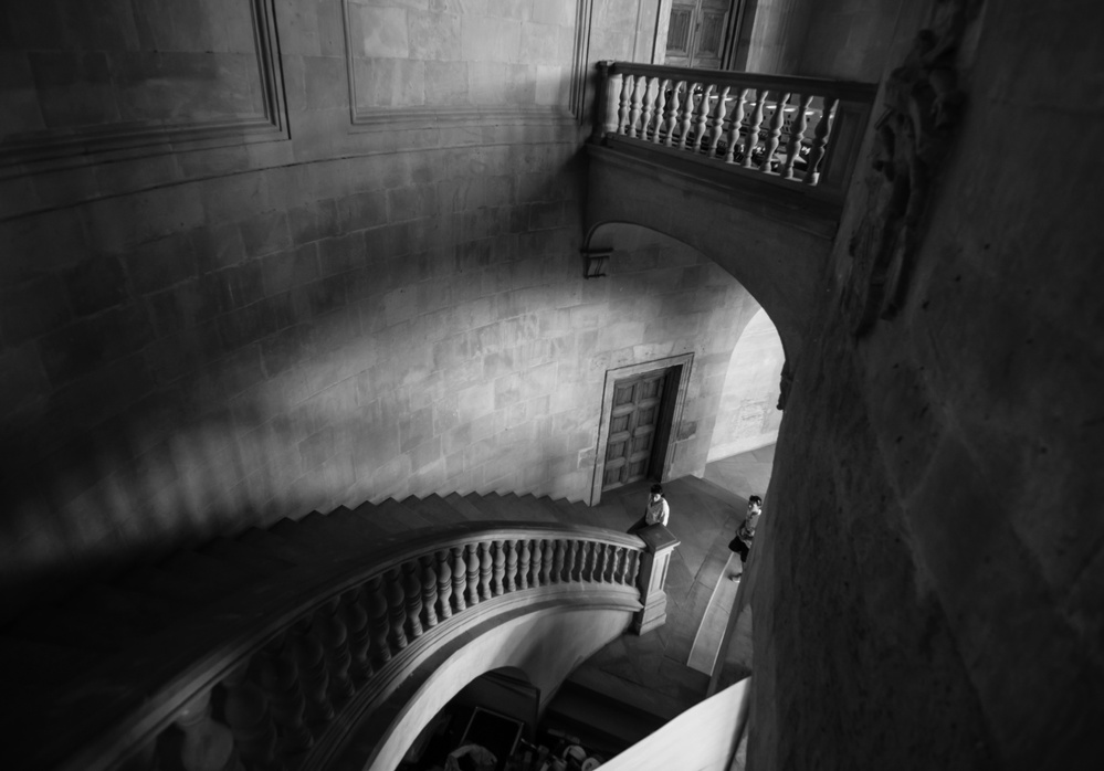 A piece of fine art art photography titled The Palace Stairs by Mario Eduardo Blanco García