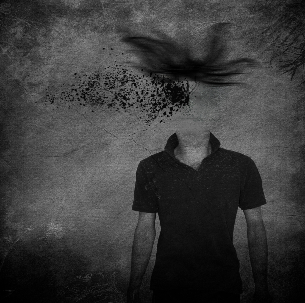 A piece of fine art art photography titled It Almost Looked Human by Kaveh Hosseini (Steppenwolf)