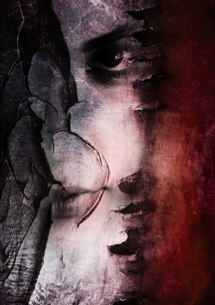 A piece of fine art art photography titled Struggle by Mirjana Kovačević