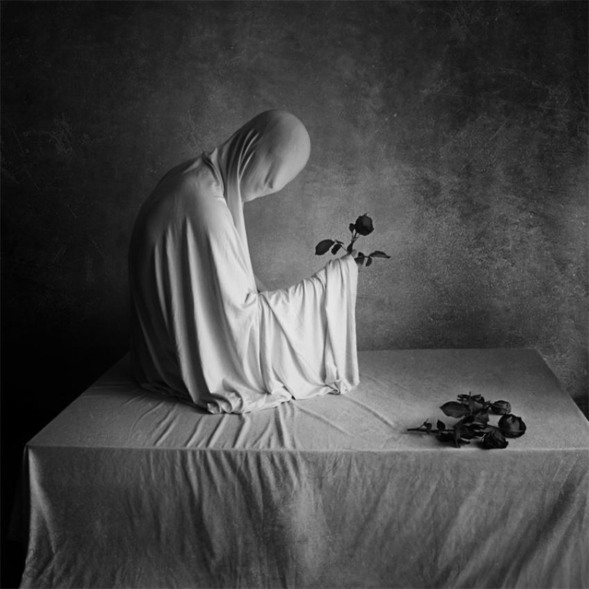 A piece of fine art art photography titled Happy Birthday by Katerina Lomonosov