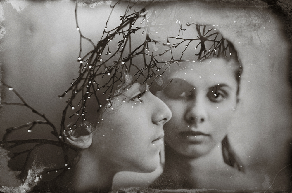 A piece of fine art art photography titled Me and You by Desislava Ignatova