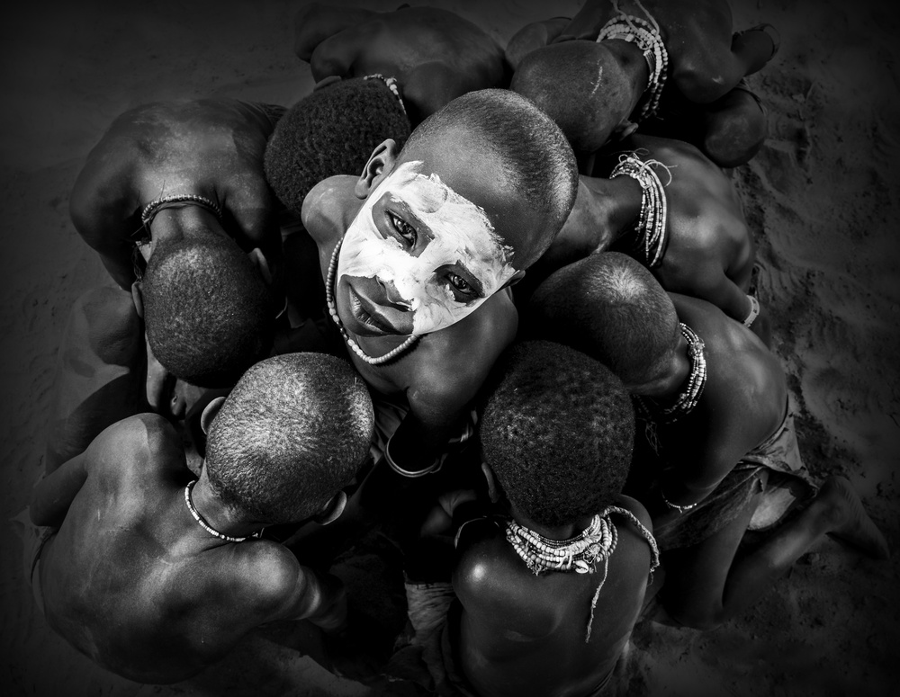 A piece of fine art art photography titled Different Face by Sayed Baqer Alkamel