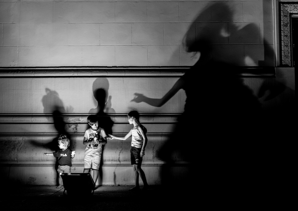 A piece of fine art art photography titled The Shadow by Marius NJ