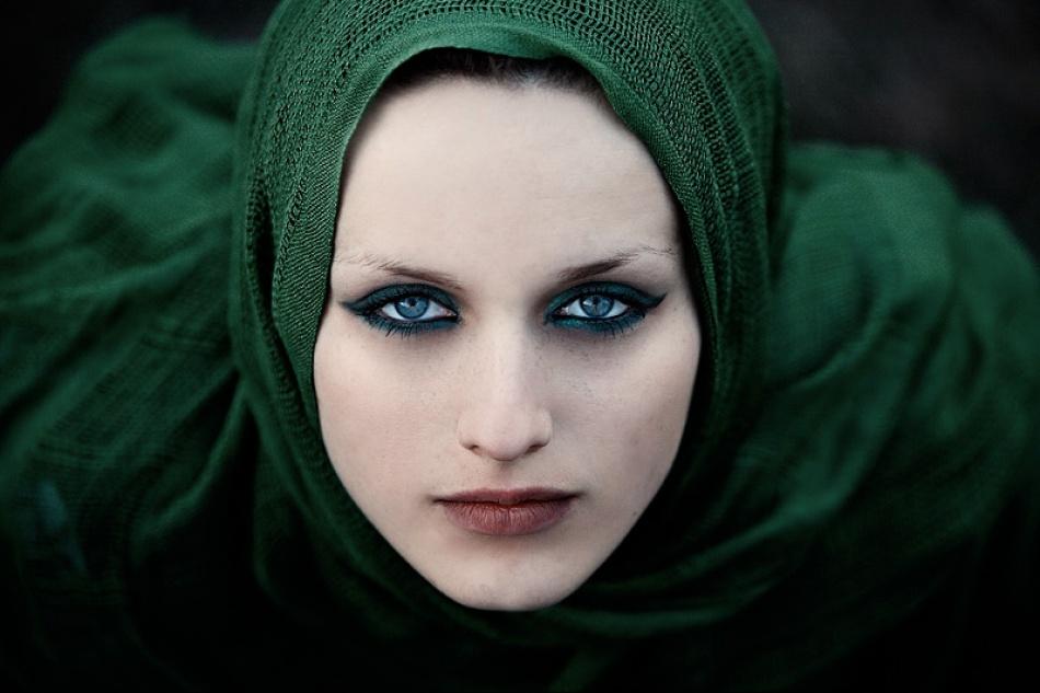 A piece of fine art art photography titled Tina by Vedran Vidak