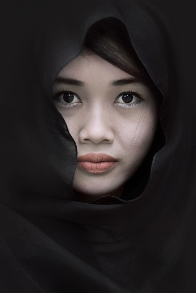 A piece of fine art art photography titled Yulia by Teguh Yudhi Winarno