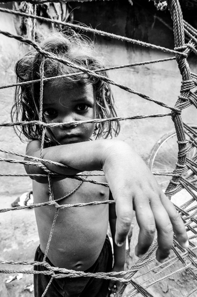 A piece of fine art art photography titled Innocent by Sagar Chatterjee