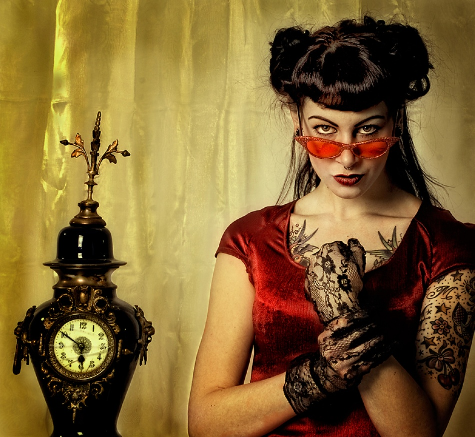 A piece of fine art art photography titled Waiting In Vain by Peter Kemp
