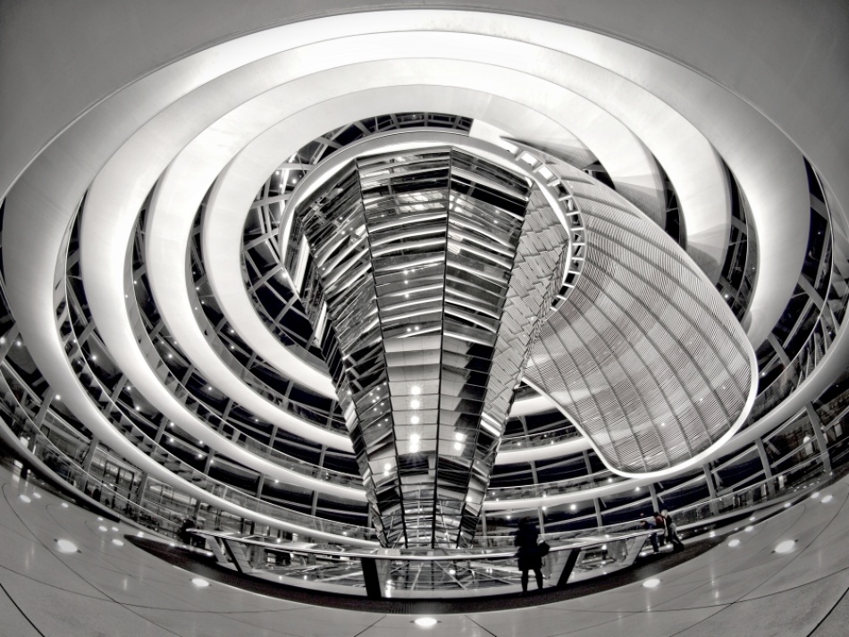 A piece of fine art art photography titled  Spiral  by Claudia Leverentz