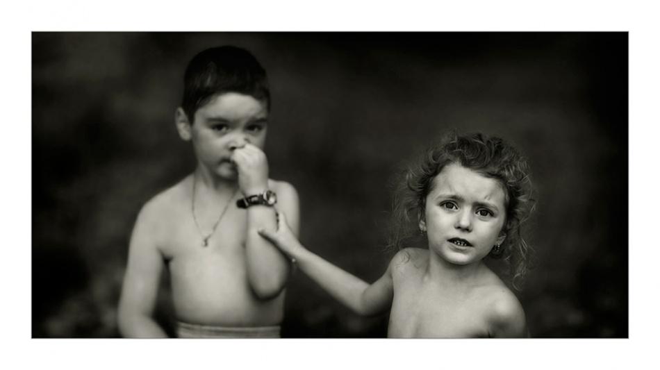 A piece of fine art art photography titled Not Guilty ! by Ileana Bosogea-Tudor