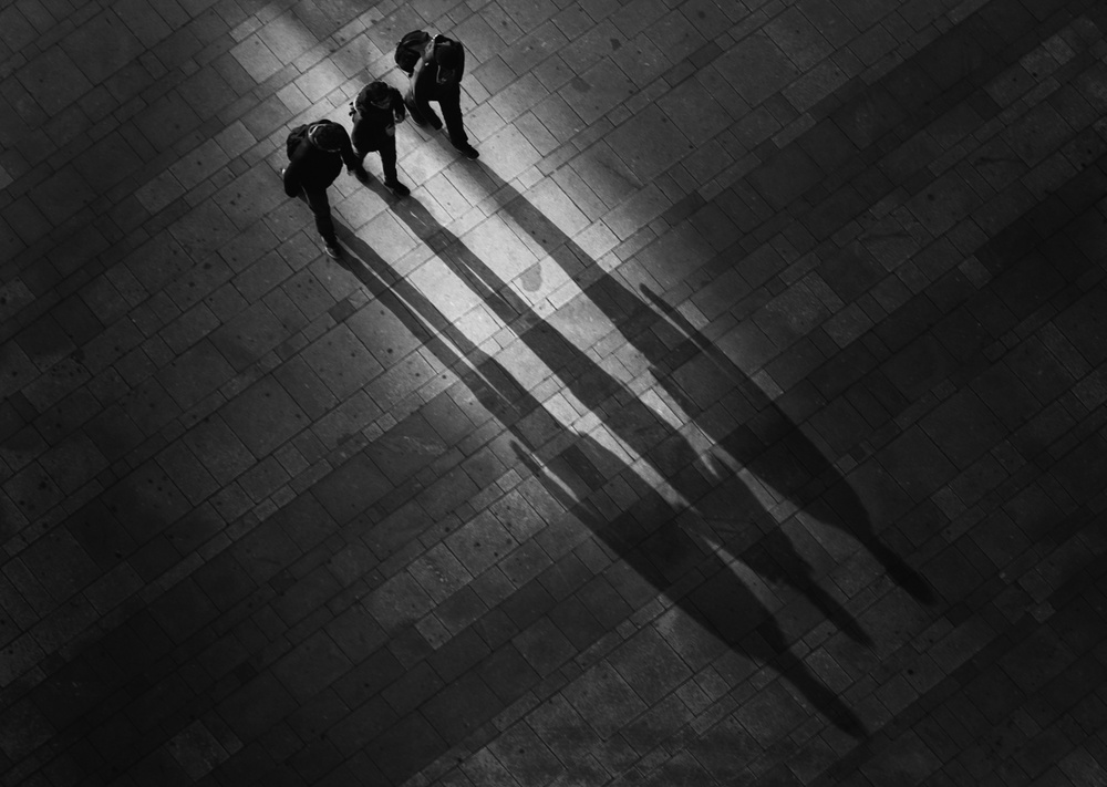 A piece of fine art art photography titled Trio by Eddy Verloes