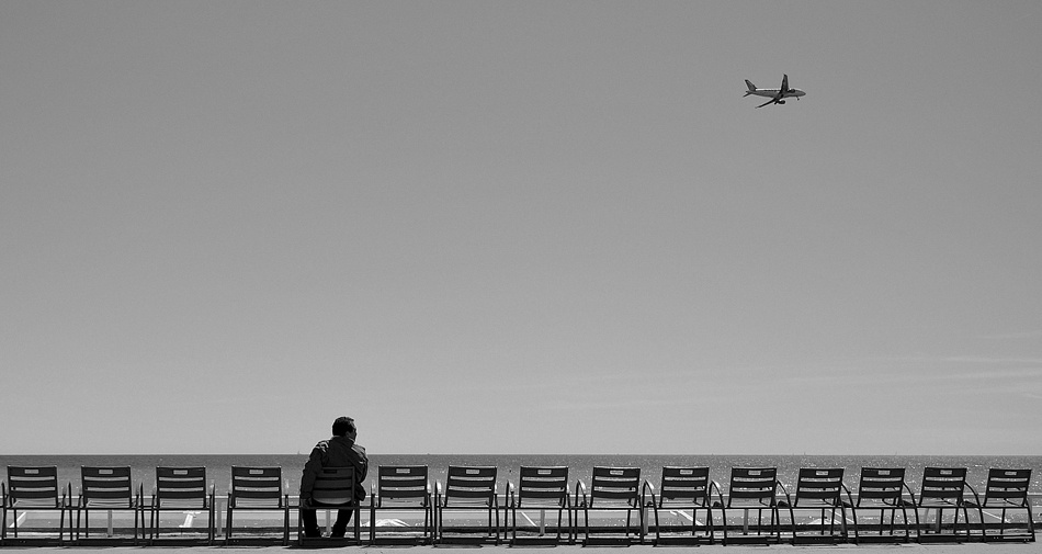 A piece of fine art art photography titled In Transit 1 by Laurent Roch