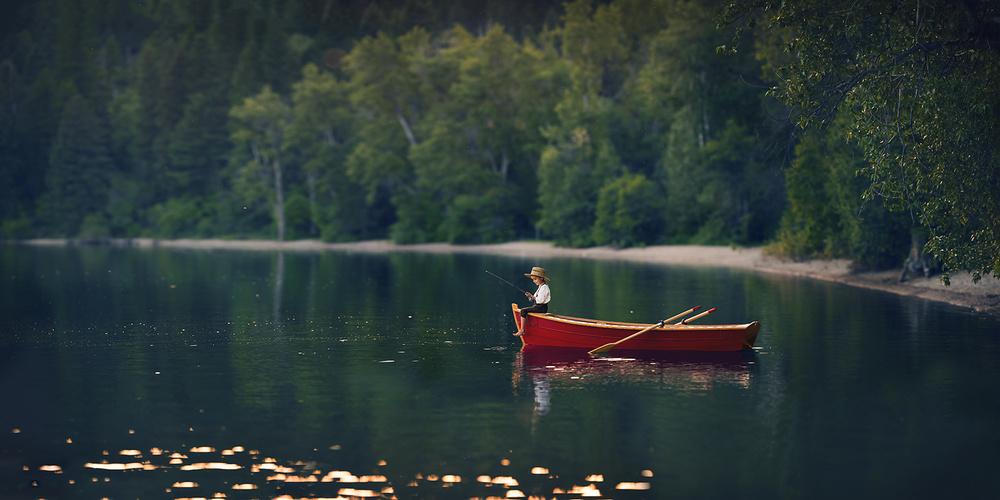 A piece of fine art art photography titled Montana Summer by Lisa Holloway
