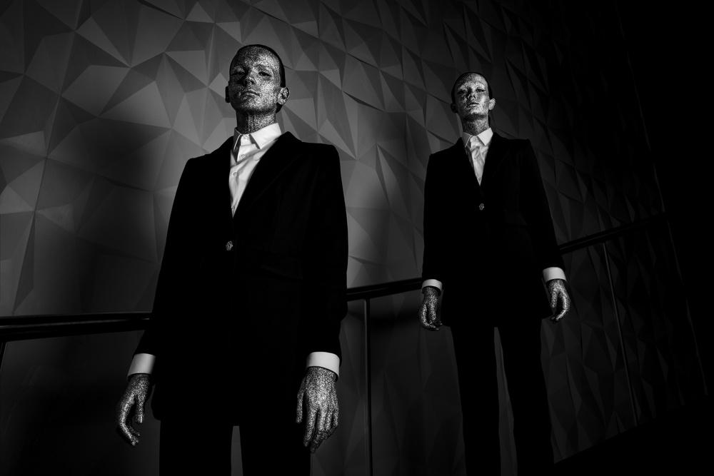 A piece of fine art art photography titled New Humans by Gautier Van Lieshout