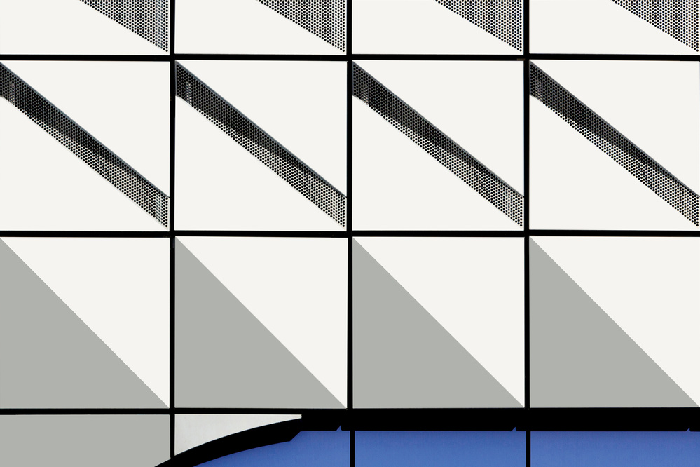 A piece of fine art art photography titled Abstract Architecture(1) by jan niezen