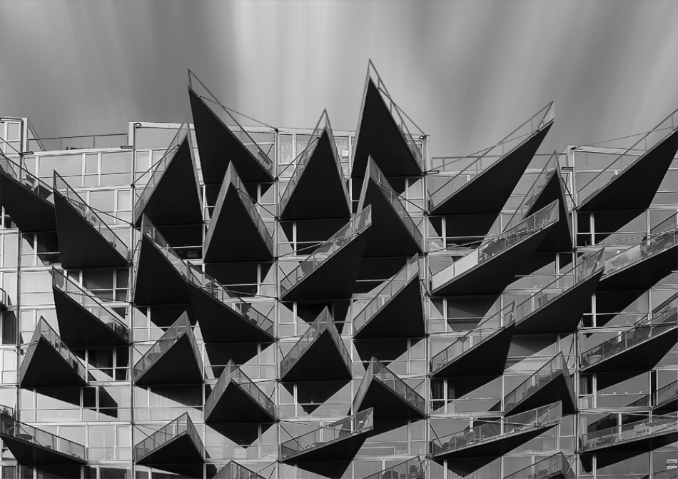 A piece of fine art art photography titled AHouse by Semir Catovic