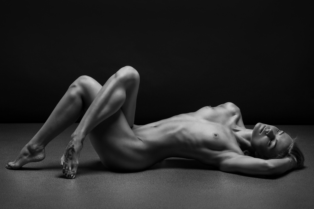 A piece of fine art art photography titled Bodyscape by Anton Belovodchenko