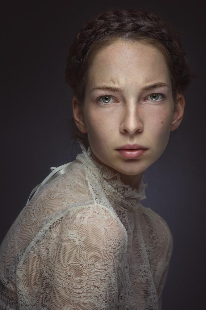 A piece of fine art art photography titled Anetta by Katarina Grajcarikova