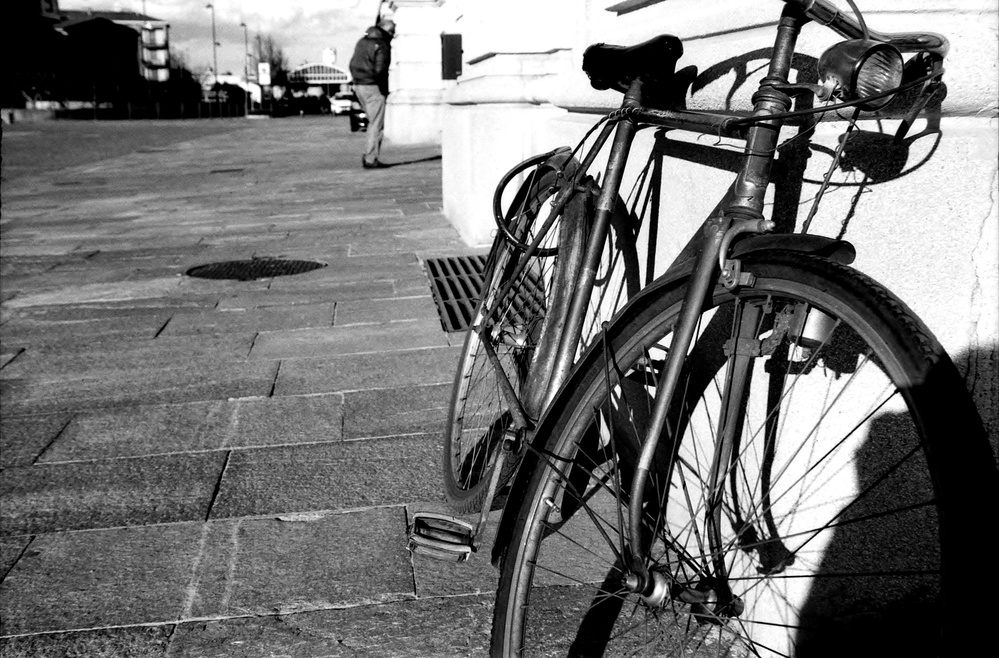 A piece of fine art art photography titled  Bicycle Thieves  by @  Davide Zappettini   @