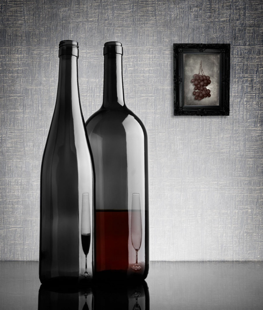 A piece of fine art art photography titled Half Full by Greg Brave