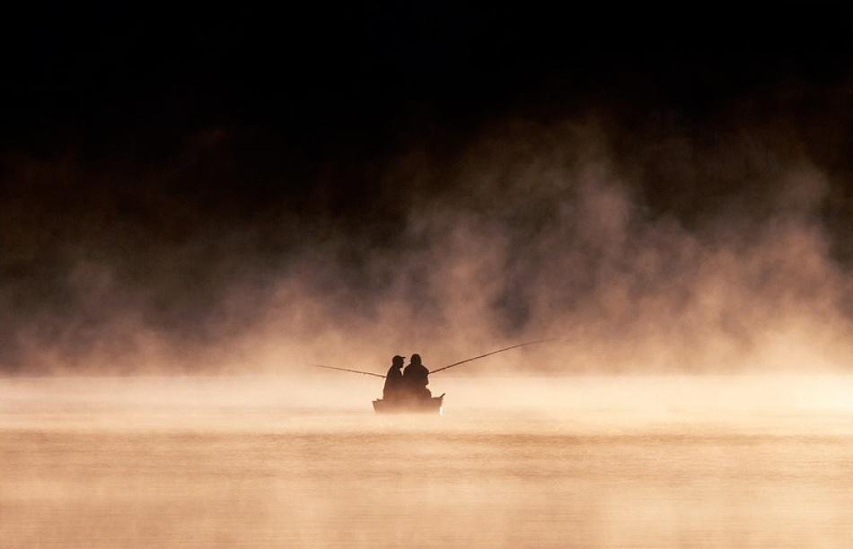 A piece of fine art art photography titled Fishers by Vedran Vidak