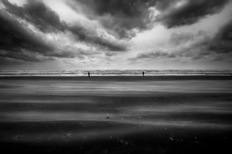 A piece of fine art art photography titled Stand-off by Larz
