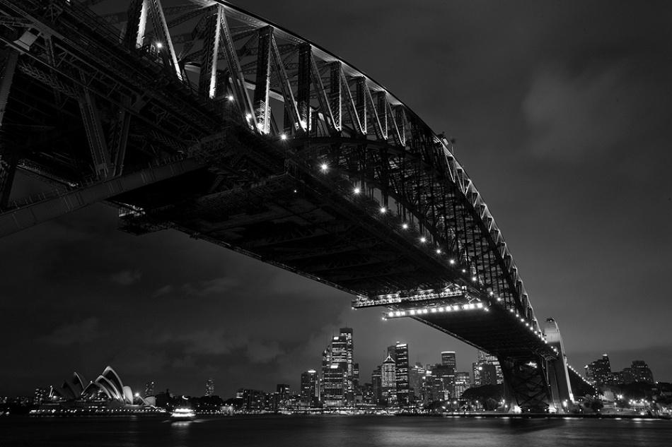 A piece of fine art art photography titled Sydney by Anton Chekalin