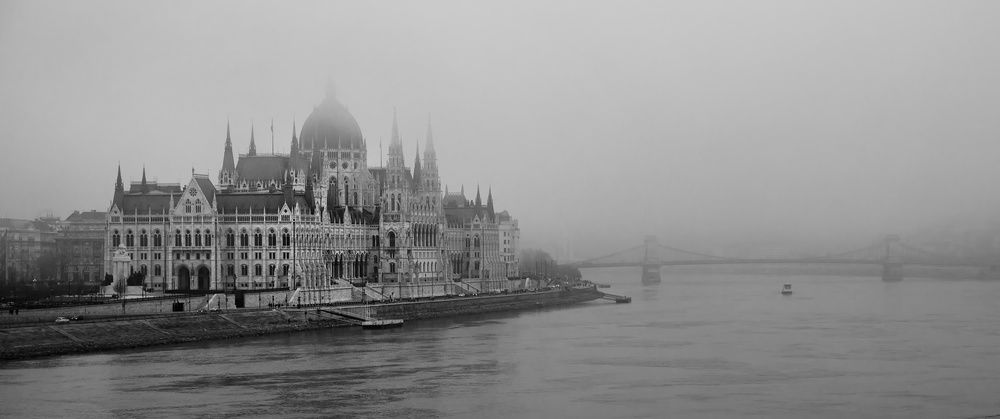 A piece of fine art art photography titled Budapest by C.S. Tjandra
