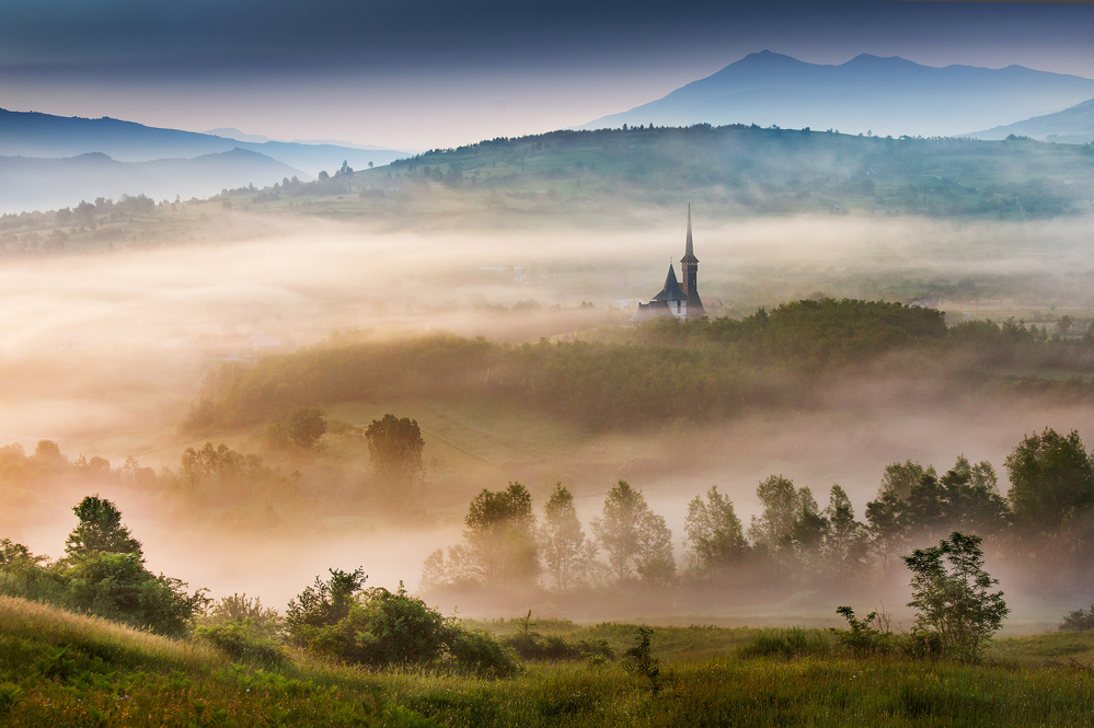 A piece of fine art art photography titled Maramures, a Fairy Land ! by Sorin Onisor