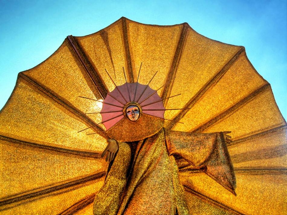 A piece of fine art art photography titled Golden Sun by expat