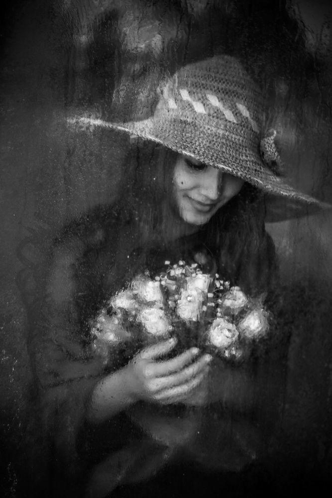 A piece of fine art art photography titled Flower by Ummu Nisan Kandilcioglu  AFIAP