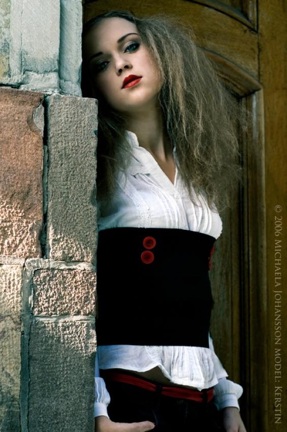 A piece of fine art art photography titled Stuck Up by Michaela Johansson