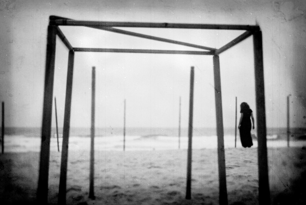 A piece of fine art art photography titled Memory Tides by milena seita