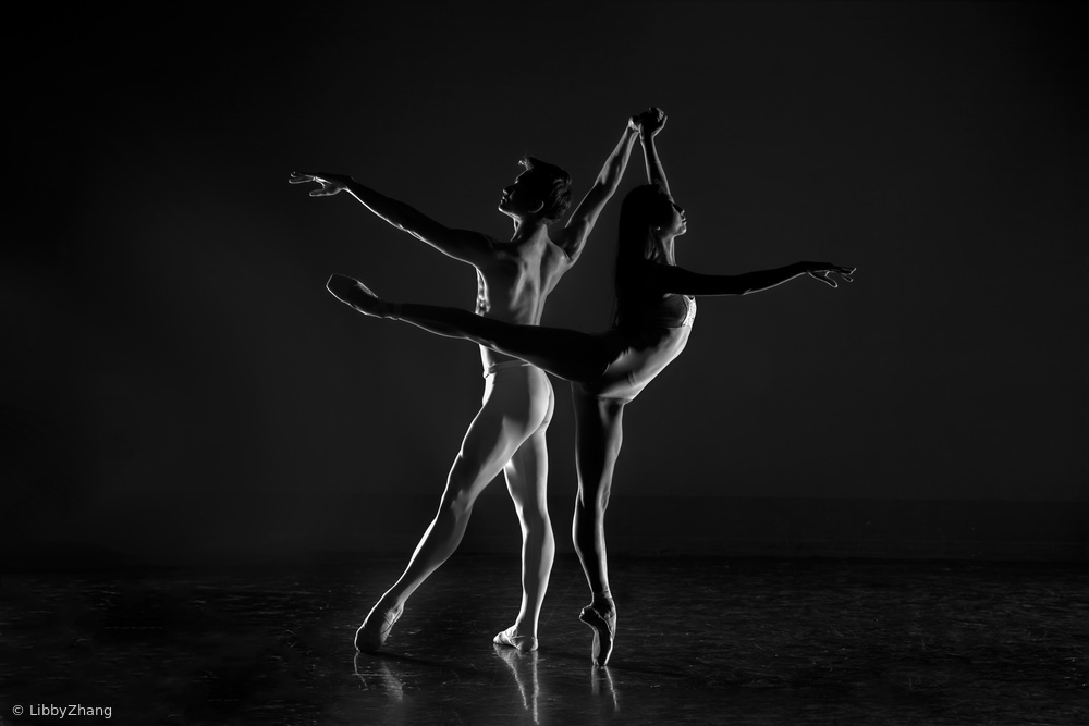 View this piece of fine art photography titled pas de deux by Manish Lakhani