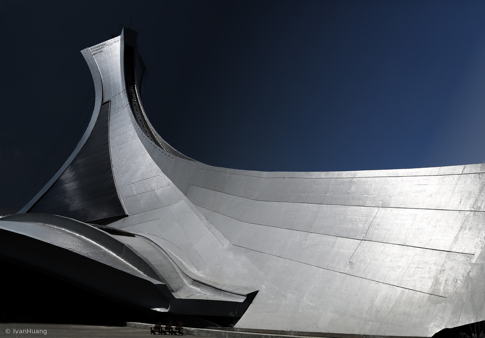 View this piece of fine art photography titled Montreal Olympic Stadium by Ivan Huang
