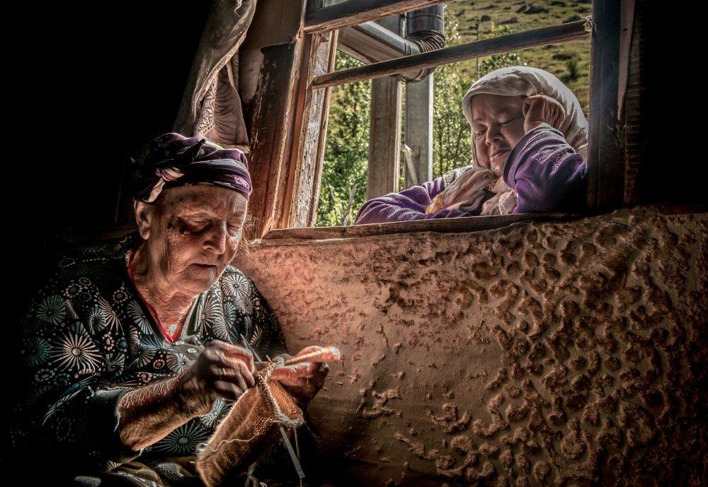 A piece of fine art art photography titled Muhabbet by Sibel Aldemir