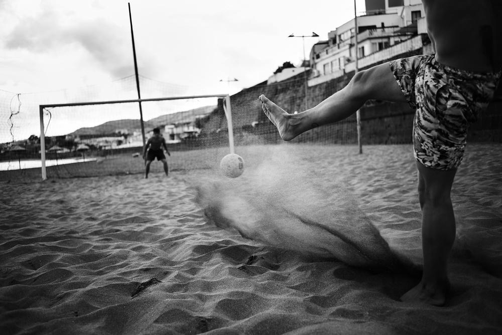 A piece of fine art art photography titled Praia Da Vitória by Rui Caria