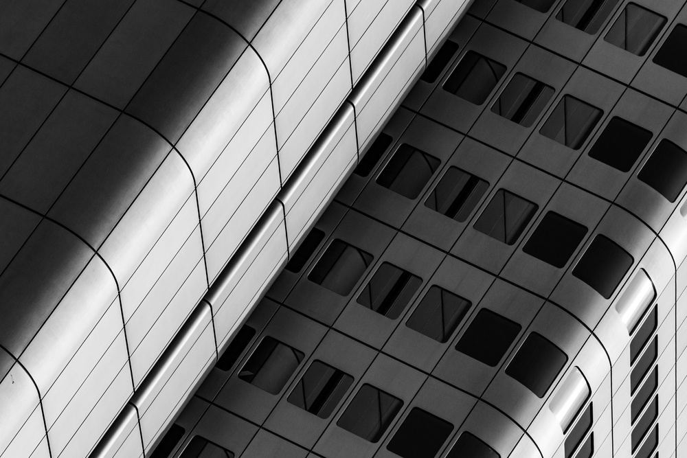 View this piece of fine art photography titled Frankfurt, Silver Tower XXVII by KaMerA