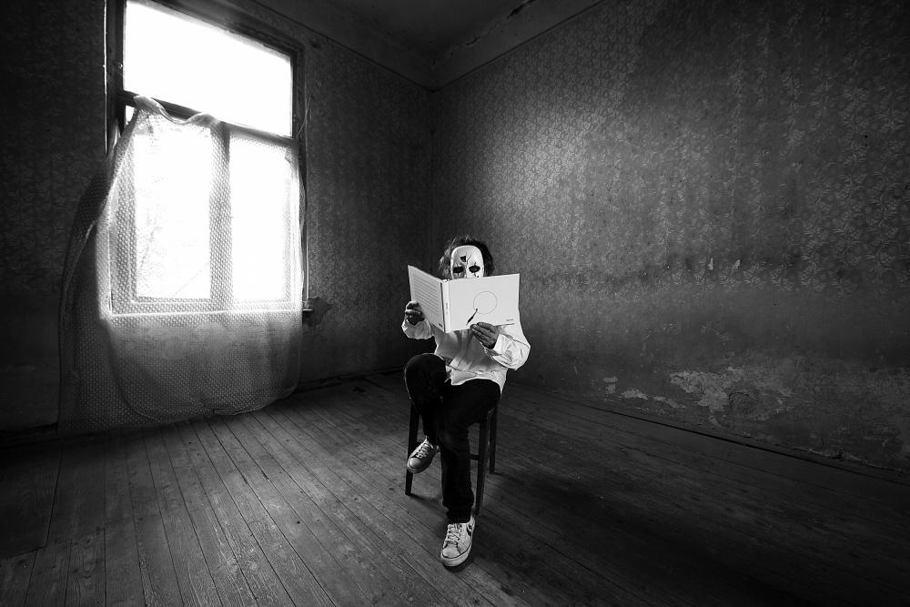 A piece of fine art art photography titled Mono Me by mario grobenski - psychodaddy