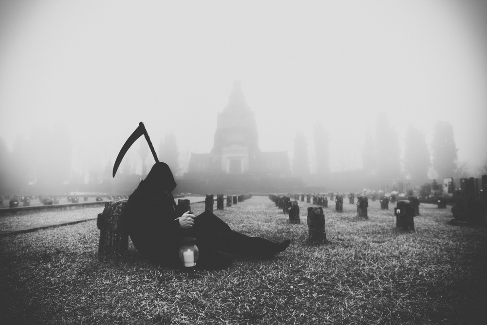 View this piece of fine art photography titled The rest of the reaper by Marco Redaelli