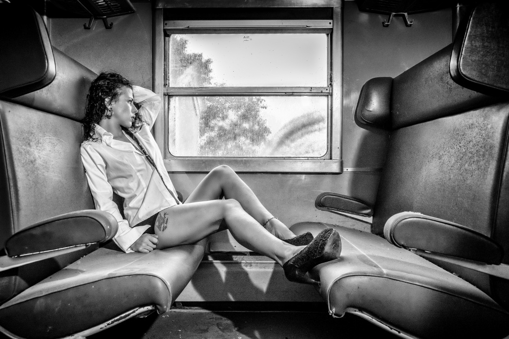 A piece of fine art art photography titled Take a Little Trip by Traven Milovich